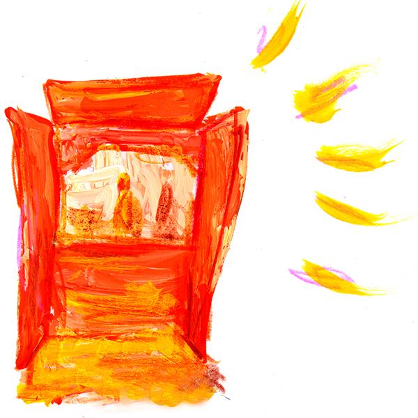 仏壇 イラスト