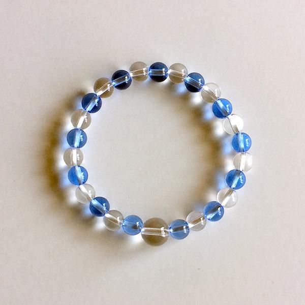 水晶 青水晶 ブルークォーツ